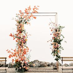 Plans are underway for weddings in the new year, so we only thought it fitting t. Plans are underway for weddings in the new year, so we only thought it fitting to share our favorite 2020 wedding trends. Wedding Trends, Wedding Designs, Fall Wedding, Rustic Wedding, Dream Wedding, Perfect Wedding, Metal Wedding Arch, Metal Arch, Decor Wedding