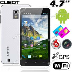 """(CUBOT) TD526(M6589) 4.6"""" Capacitive Touch MTK6589 4-Core Android 4.2.1 3G Phone+ GPS+ 8.0MP CAM (1GB RAM + 8GB ROM) P07-TD526 http://www.tinydeal.com/es/cubot-td526m6589-46-mtk6589-4core-android-42-gps-3g-phone-p-82988.html"""