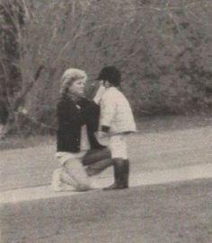 Update: Looks like : April Princess Diana, Prince William and Prince Harry at Windsor Castle on Easter weekend. Princess Diana with Prince William; very sweet, adjusting his riding helmet. Princess Diana Rare, Royal Princess, Princess Of Wales, Charles And Diana, Prince William And Kate, Prince Charles, Diana Son, Lady Diana Spencer, Diana Williams