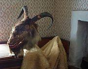 Yule Goat Mask
