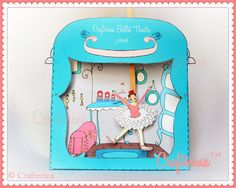 Coppelia Puppet Theater Printable PDF Kit  DIY Craft by Crafterina, $4.50  www.Crafterina.Etsy.com