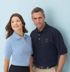 Promotional Products Ideas That Work: LADIES' 100% COTTON PIQUE POLO. Get yours at www.luscangroup.com