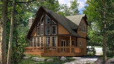 Cozy little dream home. Although I would prefer the interior to be more rustic than shabby chic