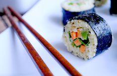 Raw Vegan Parsnip Rice Sushi