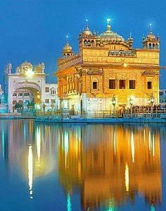 Good Morning Picture, Morning Pictures, Pilgrimage In India, Wonderful Places, Beautiful Places, Guru Nanak Wallpaper, Indian Army Wallpapers, Harmandir Sahib, Golden Temple Amritsar