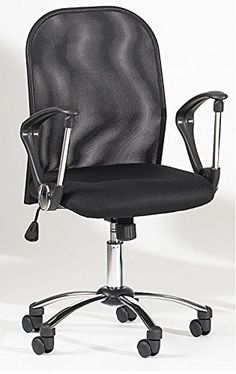 Milan Saanvi Mesh Back Swivel Tilt Pneumatic Gas Lift Chair