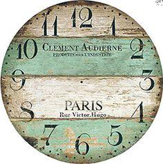 DECOPAULA Clock Craft, Diy Clock, Clock Face Printable, Arte Pallet, Paper Clock, Art Deco Watch, Fancy Watches, Retro Clock, Mosaic Diy