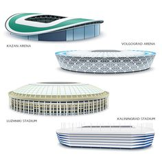 Russia 2018 World Cup stadiums on Behance – My CMS World Cup Russia 2018, World Cup 2018, Fifa World Cup, Soccer Stadium, Football Stadiums, Concept Models Architecture, Architecture Design, World Cup Stadiums, Skylight Design