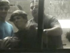 (GIF) LOL Paul trying to take a ball away from Louis! Louis is such a little kid ❤