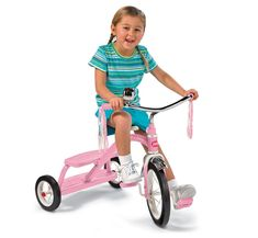 classic pink dual deck tricycle Classic Pink Tricycle radio flyer classic pink tricycle with push handle radio flyer tricycle big wheels children trike pink radio flyer 4 in 1 stroll... Radios, Pink Radio, Kids Cycle, Tricycle Bike, Popular Kids Toys, Radio Flyer, Ride On Toys, Kids Bike, Toys For Girls