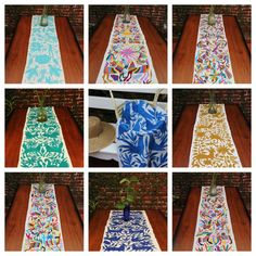 Wholesale pack of 10 otomi table runners by CasaOtomi on Etsy Mexico, Tenango, mexican wedding, textile, mexican suzani, suzani, embroidery, hand embroidered, otomi, www.casaotomi.com, otomi, table runner, fiber art, mexican, handmade, original, authetic, textile , mexico casa, mexican decor, mexican interior, frida, kahlo, mexican folk, folk art, mexican house, mexican home, puebla collection, las flores, travel tote, boho, tote, handbag, purse, cushion, serape