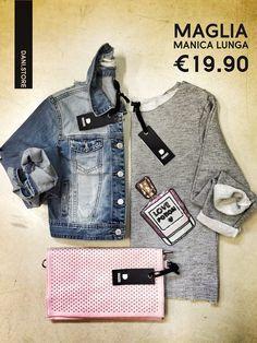 DANI.STORE www.danigroup.com #newcollection #fashion #ss15 #jeansdani #pochetterosa #lowcostdani