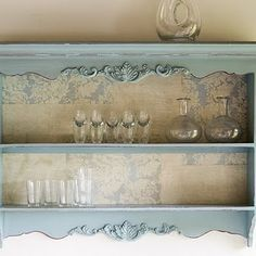 Shabby Chic Ireland: Romantic Shabby Chic - wall shelf