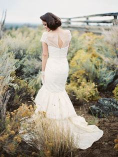 Breathtaking wedding gown captured by Erich Mcvey #weddingdress  http://www.weddingchicks.com/2013/11/11/elegant-bridal-looks/