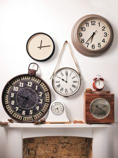 Tick tock clocks go back. From retro cool to modern minimalism, keep time.