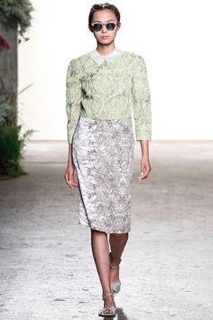 Honor, Spring 2013. #StyleInvades #NYFW #MBFW    For all your #NYFW Fix follow http://www.twitter.com/Jeanniemai