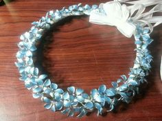 I made this halo for my Granddaughter by forming wire flowers and applying nail polish and beads. Nail Polish Flowers, Nail Polish Jewelry, Nail Polish Crafts, Nail Polish Art, Resin Jewelry, Jewelry Crafts, Estilo Hippie, Wire Flowers, Homemade Jewelry