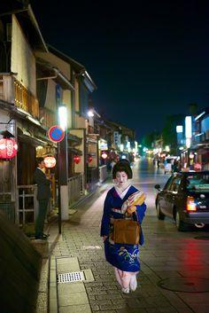 祇園 花見小路 #Gion #Kyoto #Geisha