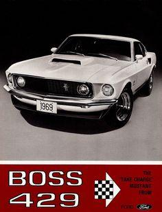 1969 Mustang Boss 429