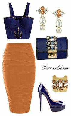 A fashion look from June 2015 by terra-glam featuring Boohoo, GEDEBE and Kate Spade Night Outfits, Classy Outfits, Sexy Outfits, Stylish Outfits, Fashion Outfits, Fashion Trends, Passion For Fashion, Love Fashion, Womens Fashion
