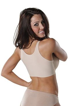 a9f3571aa2 It is an ultra-comfortable bra with back smoothing technology an underwire  molded foam cups and non-slip straps. The Tankee Short is virtually  invisible ...