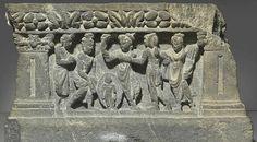 【美國舊金山_亞洲藝術博物館】2世紀巴基斯坦犍陀羅藝術佛陀誕生石雕像