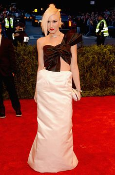 Gwen Stefani in Maison Martin Margiela at the 2013 Met Gala.