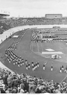 Summer 1928 - Amsterdam Games The Olympic flame was introduced and Germany returned to the Games. Women competed in track and field events for the first time, however, so many collapsed at the end of the 800 meter race that the event was banned until 1960. image source: http://www.olympic.org