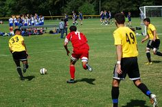 Team America 96 (NCSL Division 1 Soccer, U18/U19) vs ASA Blackhawks (September 14, 2014) -- Kyle Petitt #7