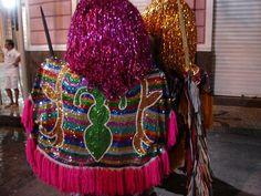 Carnaval 2013 -  Caboclo de lança do Maracatu de Baque Solto. Recife, Brasil.