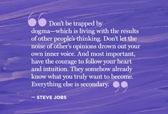 Quotes to Help You Keep Following Your Passion - Steve Jobs - Oprah.com