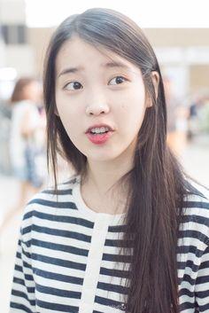 150912 IU at Incheon Airport Leaving for HK