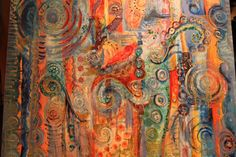 A Festival of Colour Art Exhibition by Sharon White
