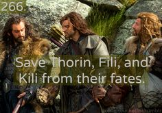 Oh I wish.. Kili was my first ever fictional character crush and I remember my poor little 10 year old heart was utterly broken in half when he died. :'(