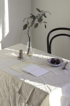 Sanna Luhaniemi / Sasha Kretova Stylists, Dining Table, Interior, Furniture, Home Decor, Dining Room Table, Decoration Home, Room Decor, Design Interiors