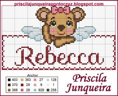 ♥ Fofura em forma de anjo!!! ♥ Valentine Gift Baskets, Valentine Gifts, Baby Cross Stitch Patterns, Animal Crackers, Betty Boop, Diy And Crafts, Projects To Try, Teddy Bear, Embroidery