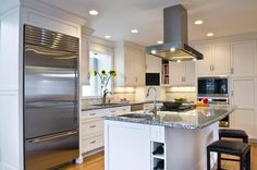1000 images about kitchen cooktop ventilation on - Kitchen island with cooktop and prep sink ...