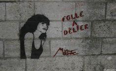 #MissTic Street Art Arles  Trinquetaille