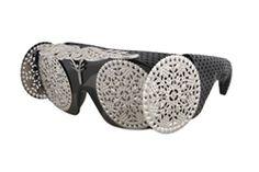 NATASHA MORGAN baroque eyewear. $450 Shop online at  https://www.natashamorgannyc.com/