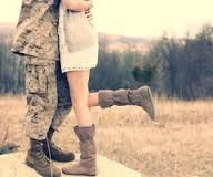Army couple photo