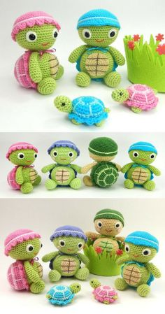 Crochet animals with recipe. - How to make amigurumi . - Bildung - Crochet animals with recipe. – How to make amigurumi - Crochet Animal Amigurumi, Crochet Animals, Amigurumi Patterns, Crochet Dolls, Knitted Dolls, Baby Knitting Patterns, Crochet Animal Patterns, Stuffed Animal Patterns, Cute Crochet