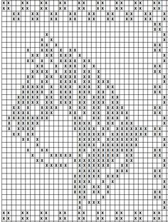 Sticken Filet Crochet Charts, Cross Stitch Charts, Cross Stitch Patterns, Knitting Charts, Knitting Patterns, Crochet Squares, Crochet Motif, Crochet Doilies, Hand Embroidery