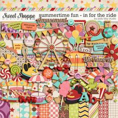 Summertime Fun - In For The Ride by Jady Day Studio - Used