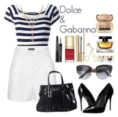 """Untitled #291"" by ainara26 ❤ liked on Polyvore featuring Dolce&Gabbana"