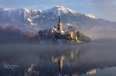 Mist over the lake by Azman Miro - Photo 134955467 - 500px
