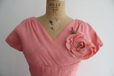 1950s dress / 50s party dress / Sweet Tea Rose by nocarnations, $148.00
