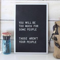 Ha, you also may be not enough for some people. I don't care for extremists anyhow! Life is too short to rage spuradicly! ln2018
