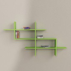 Decortie - Estuary Wall Shelves Green