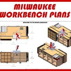 PDF Mobile Project Center Workbench Plans DeWalt Kreg | Etsy Table Saw Workbench, Workbench Plans Diy, Workbench Designs, Mobile Workbench, Router Table, Woodworking Plans, Woodworking Projects, Woodworking Shop, Garage Workbench
