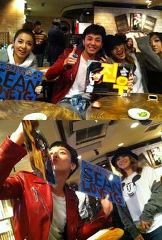 Sean shares photos of G-Dragon & 2NE1′s CL, Dara, and Minzy after YG Family's concert in Japan